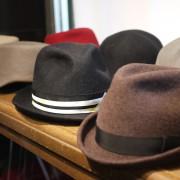 いつ見ても素敵な帽子さん。
