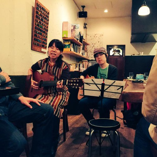 鈴木晶久さんとライブも行いました。
