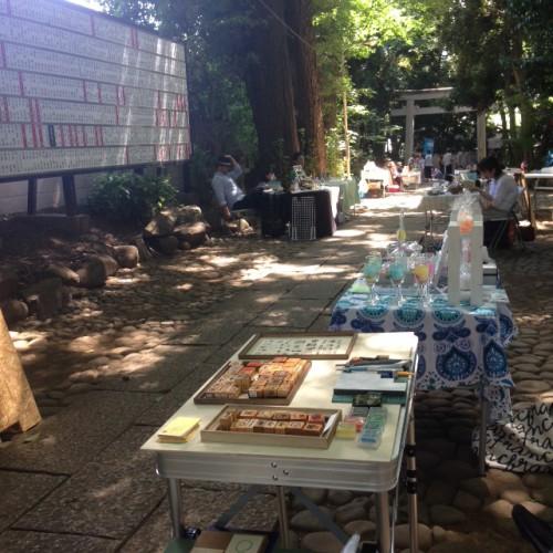 【出展報告】20160807 奥渋谷 杜の手づくり市